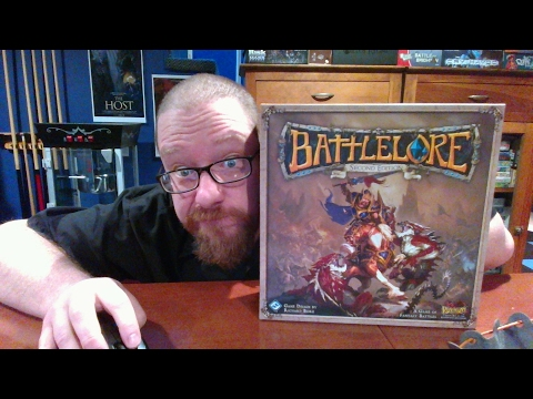 The Board Game Kaptain's review and tutorial for Battlelore second edition