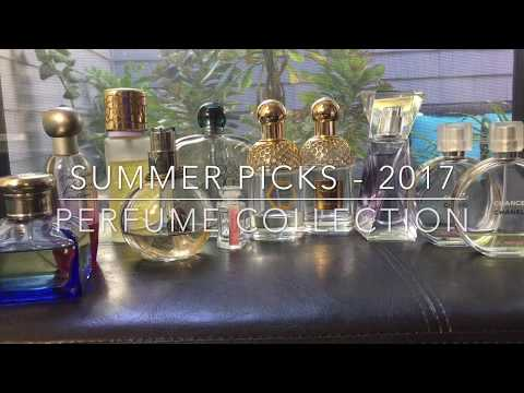 Summer Perfume Picks 2017