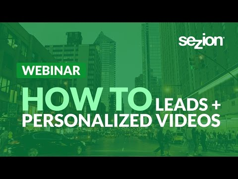 How To Engage With Your Landing Pages Leads With Personalized Videos