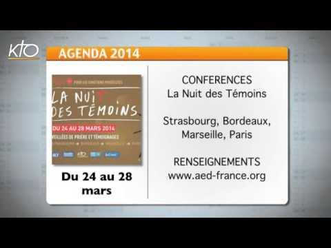 Agenda du 10 mars 2014