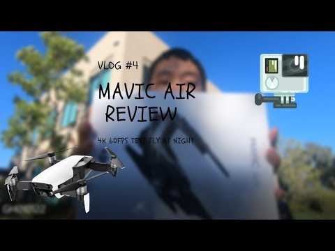 VLOG #4 – MARVIC AIR DRONE REVIEW TEST FLY