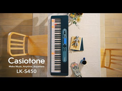 Casiotone LK-S450 - Đàn organ/keyboard phím sáng CASIO 2021