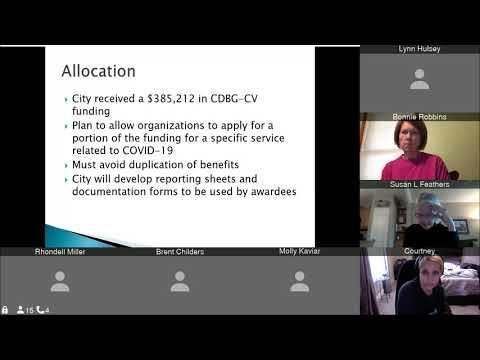 CDBG -  Public Hearing (April 30, 2020)