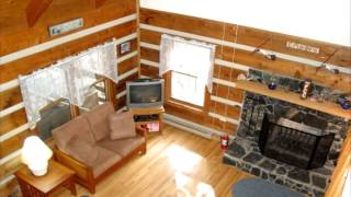Blueberry Hideaway Cabin Rental @ Fall Creek Cabins near Boone NC