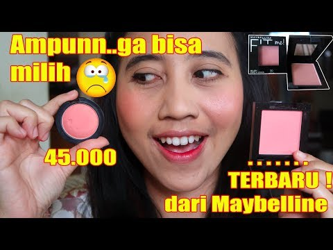 MAYBELLINE FIT ME BLUSH VS MAYBELLINE COLOR SHOW BLUSH | REVIEW+TEST KETAHANAN