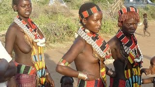 10 Etiopie -  kmen Hamar