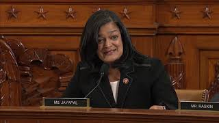 Rep. Pramila Jayapal's Remarks During House Judiciary Committee Markup of Articles of Impeachment Against President Donald J. Trump