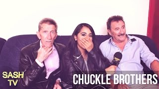 CHUCKLE BROTHERS INTERVIEW: TALKS MUSIC WITH TINCHY STRYDER, THE CHUCKLE OF OZ + MORE| SASHTV