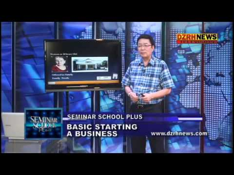 , title : 'Seminar School Plus - Basics of Starting a Business