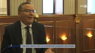 n`Kuvend - Hamza: Albini nuk ka prezantuar program qeverisës 20.02.2020
