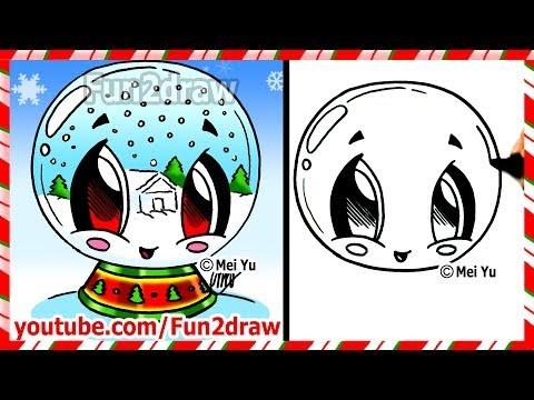 Fun2draw Snow Globe Fun2draw Stars By The Funny Drawers
