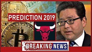 BITCOIN [BTC] BREAKING NEWS: Thomas Lee PREDICTION 2019
