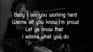 Cater 2 U   TTS (Lyrics)