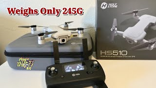 HolyStone HS510 4k 5g WiFi FPV Brushless GPS Drone | Unboxing & How To Setup
