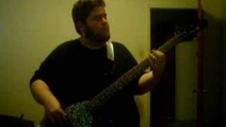 me playing bass to livin and rockin by 311