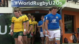 World Rugby U20 Highlights, Italia-Australia 15-44