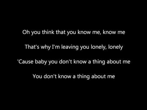 Kelly Clarkson Mr. Know It All (Country Version) Lyrics Mp3