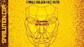 ★Female Golden Face Ratio - Facial Symmetry Formula★ (Binaural Beats Healing Frequency Music)