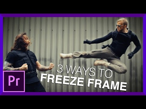 3 Ways to Freeze Frame | Adobe Premiere Pro Tutorial