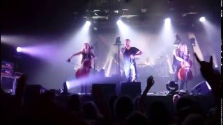 Apocalyptica - Hope vol. 2 [LIVE @ Saint Petersburg 2015]