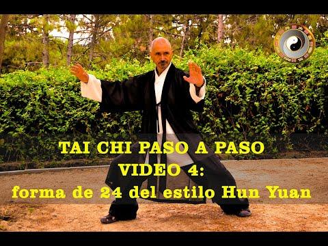 Hun Yuan Taiji Quan paso a paso: video 4