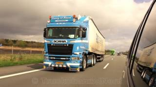 SCANIA V8/DAF XF/VOLVO FH - DKJ Transport With Heavy Load [HD]