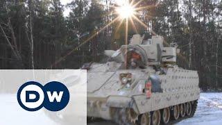 Танкова бригада США прибула на маневри НАТО до Польщі