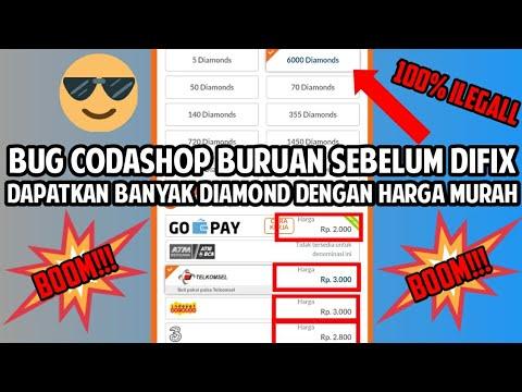 BUG CODASHOP!!!DAPATKAN RIBUAN DIAMOND DENGAN HARGA MURAH ALL GAME