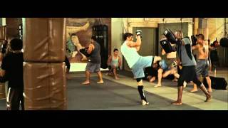 Training montage from Never Back Down