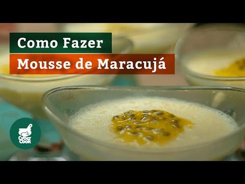 Mousse de Maracujá