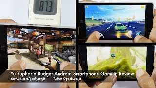Yuphoria Budget 4G Android Smartphone Gaming Review