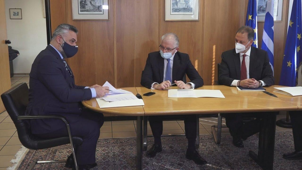 """Υπογραφή Έργου """"Ψηφιακή Εφαρμογή Εκτιμητικής Διαδικασίας ΕΛ.Γ.Α."""""""