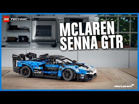 Vidéo LEGO Technic 42123 : McLaren Senna GTR
