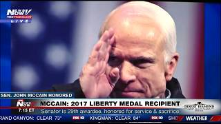 WATCH: Peers Honor the Life of Sen. John McCain at Liberty Medal Ceremony (FULL VIDEO) FNN