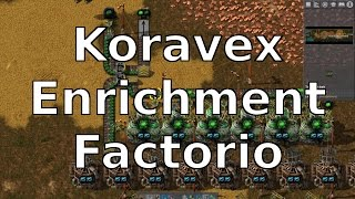 Factorio Blueprints - Automated Kovarex Enrichment Process