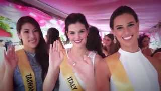 Miss Grand International 2015 Welcome Parade at Trat Province