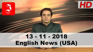 News English USA 13th Nov 2018
