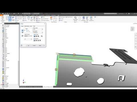 Inventor 2019 What's New: Sheet metal for Manufacturing