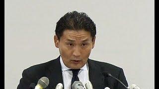 貴乃花親方、相撲協会に退職届提出