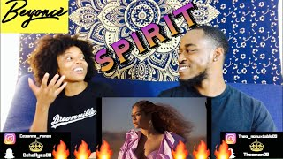 BEYONCÉ   SPIRIT FROM DISNEY's THE LION KING (OFFICIAL VIDEO) REACTION