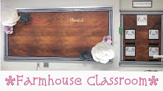 Farmhouse Classroom Tour