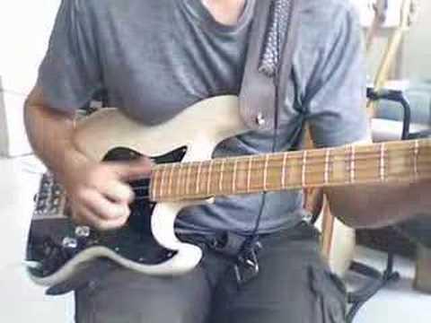slap bass funky thumb jam