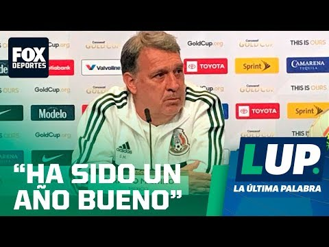 LUP: Gerardo Martino en conferencia de prensa