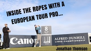 Inside The Ropes With A European Tour Pro at Kingsbarns Golf Links
