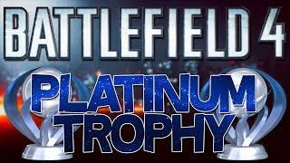 Battlefield 4 [PS4] Platinum Trophy (Infiltrator)