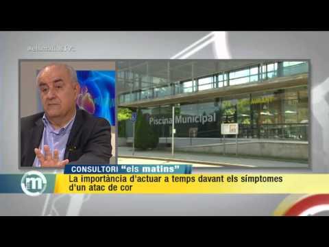 TV3 – Els Matins – Sobreviure a un atac de cor gràcies a un desfibril·lador