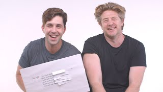Vlog Squad Answers The Web's Most Searched Questions w/ Josh Peck, Carly & Erin   WIRED Parody