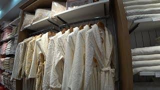 Красивый турецкий текстиль. Огромный магазин в Анталии. Цены в Турции. Meryem Isabella
