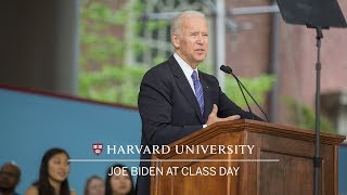 Vice President Joe Biden: Class Day Speech | Harvard Commencement 2017