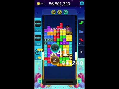 tetris blitz - 895million points no finisher